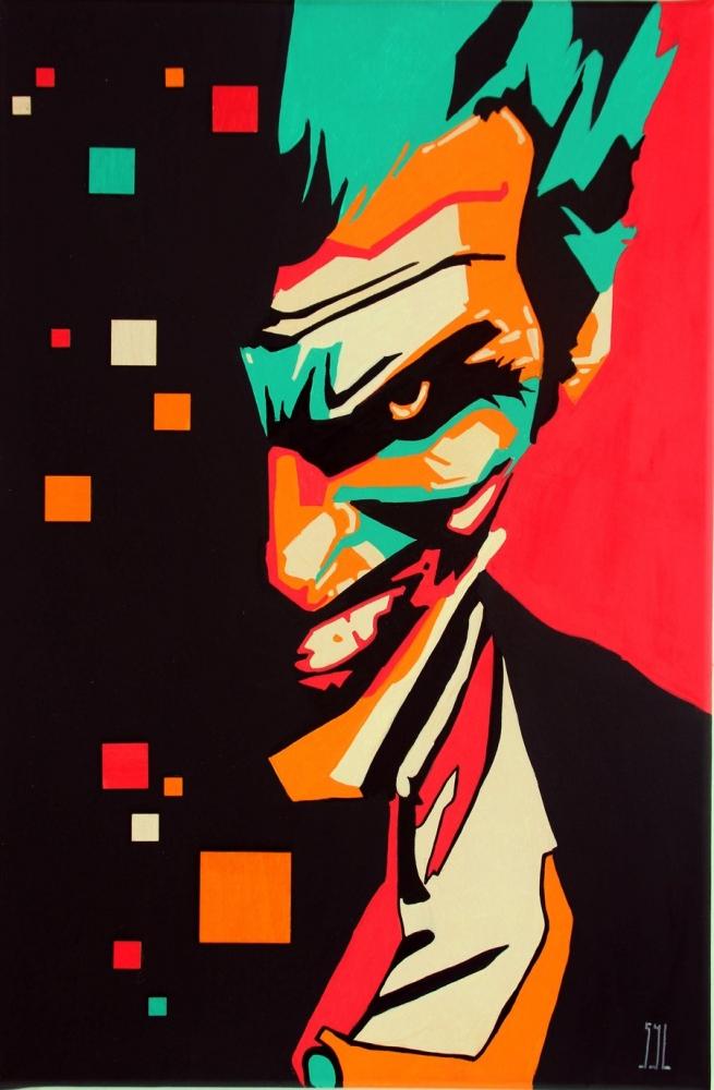 Joker by aquarelle-autrement